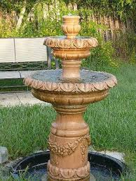 Backyard Water Fountain by 99 Best Water Fountains Images On Pinterest Garden Fountains