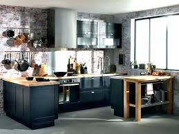 cuisine noir et deco cuisine noir cuisine industrielle deco cuisine palette palette