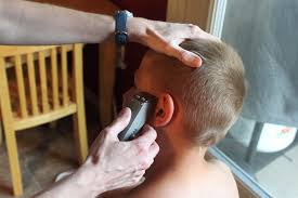 haircuts with hair clippers how to do a boy s haircut with clippers