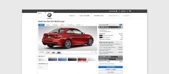 bmw build your car smart customizer inspirations bmw car cpq platform