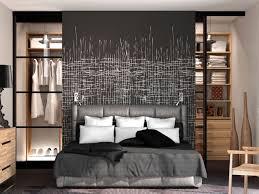 dressing moderne chambre des parent rideaux occultants derriere tete de lit recherche chambre