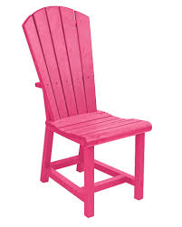 Fuschia Chair Cr Plastic Products C11 Addy Dining Side Chair