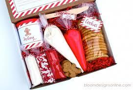 christmas cookie kit bloom designs