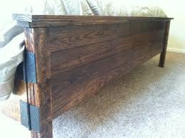 wood king size headboard rustic king size headboard u2013 clandestin info