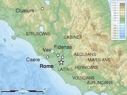 Orvieto Italy Map by Fidenae Wikipedia