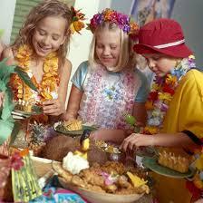 kids u0027 parties throw a hawaiian luau