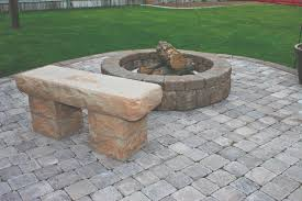 Firepit Bench by Fire Pits Mutual Materials
