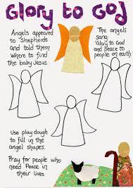 flame creative children u0027s ministry angels and shepherds nativity