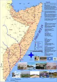 Map Of Somalia карта сомали Detailed Map Of Somalia