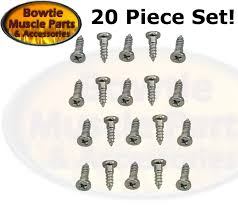 windshield window molding clip studs 20 pc stud set chevelle nova