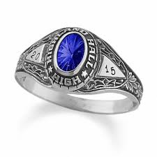 highschool class ring silver select fantasia high school class ring by