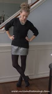 target salt lake city black friday ootd chunky knit black sweater from target silver mini skirt