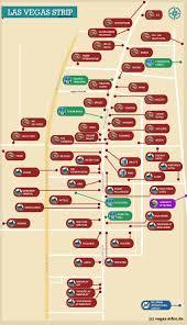 Las Vegas Strip Map With Hotels by Las Vegas Strip Las Vegas Infos