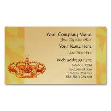Crown Business Cards Shop Business Cards From Zazzle On Wanelo