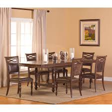 Seaton Bar Cabinet A R T Furniture Old World 7 Piece Double Pedestal Dining Set With