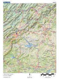 Salem Virginia Map by B2x Online Availability