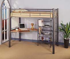 loft bed with desk and storage for adults storage decorations