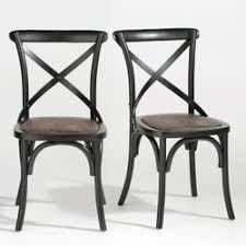chaise cuisine noir chaise cuisine la redoute