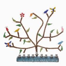menorah tree of tree of menorah fair trade judaica