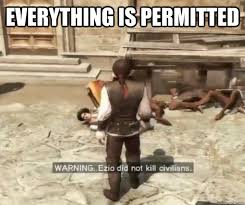 Assassins Creed Memes - assassins creed logic memes quickmeme