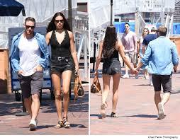NFL     s Julian Edelman    Dating Adriana Lima     PDA On the Pier   TMZ com