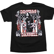 Flag T Shirt Pantera T Shirt Dimebag Darrell Guitars Flag T Shirt