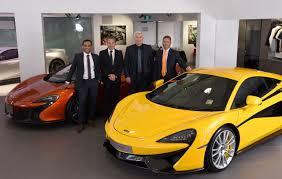 mclaren dealership mclaren opens third showroom in australia gold coast