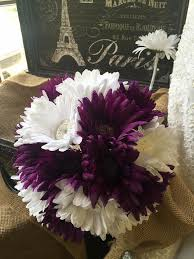 purple and white wedding purple white bouquet with boutonniere purple white