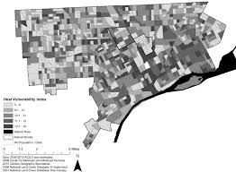 Map Of Detroit Michigan Planning For Climate Change In Legacy Cities The Case Of Detroit