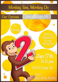 thanksgiving party invites curious george birthday party invitations cimvitation