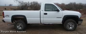2002 chevrolet silverado 2500hd pickup truck item bu9282