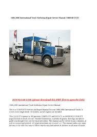 calaméo 1986 2008 international truck workshop repair service