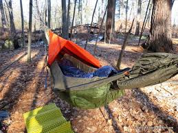 dream hammock 4 season thunderbird hammock review section hikers