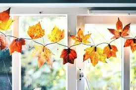 maple leaf garland with lights autumn leaf garland quieromasfutbol com