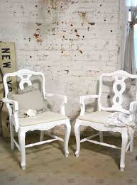 Shabby Chic Armchairs by Painted Cottage Chic Shabby French Dining Arm Chairs Chr121