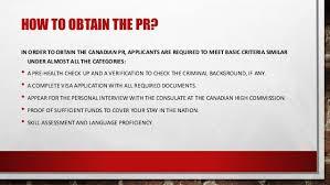 canada permanent residence visa