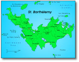 map of st st barthelemy st barts st barth and caribbean maps