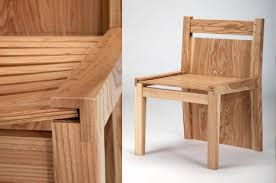 chubby brothers hidden chairs dining table yanko design