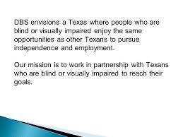 Prevent Blindness Texas Dars Division For Blind Services Program Information Ppt Download