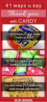 41 ideas for cute ways to say thank you with candy bar gift and