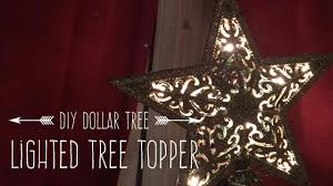 lighted tree topper diy dollar tree lighted tree topper
