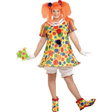 plus size women halloween costume giggles the clown women u0027s plus size halloween costume