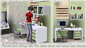 Teen Bookcase My Sims 3 Blog Alta Teen Bedroom Set By Simcredible Designs