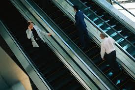 men women u0026 glass escalator