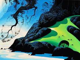 eyvind earle christmas cards eyvind earle an exhibit of a disney legend on view at forest