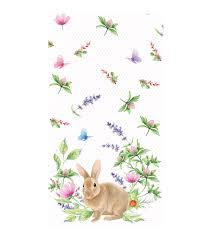 easter napkins easter pack of 16 paper napkins bunny joann