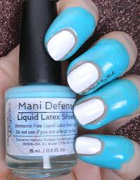 ellison u0027s organics mani defense liquid latex shield review nail