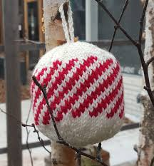 knitted christmas ornaments a kit yarns untangled