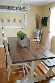 Modern Farmhouse Dining Room Makeover Little Vintage Nest - Farmhouse dining room