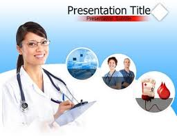 hospital nurse powerpoint background templates and slides